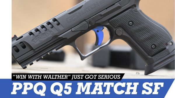 Walther PPQ Q5 Match Steel Frame Pistol