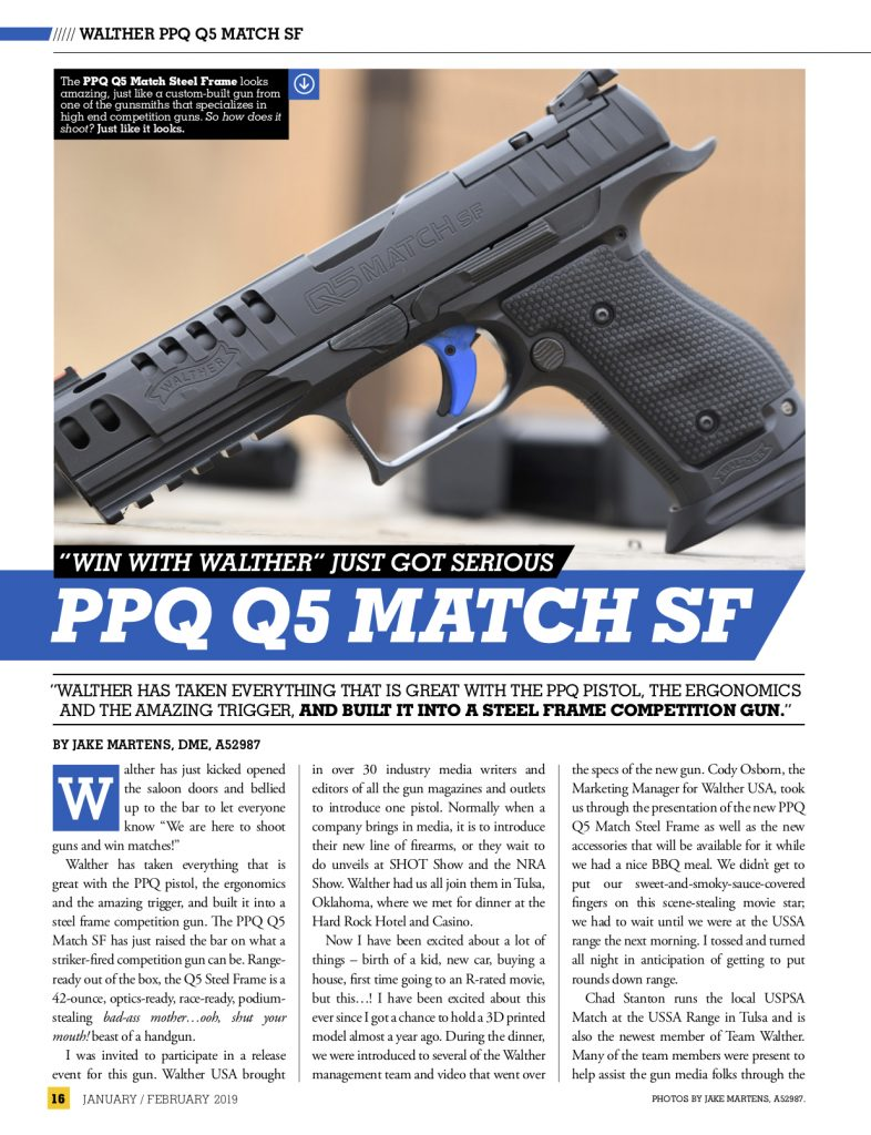 Walther Q5 Match Steel Frame Pro