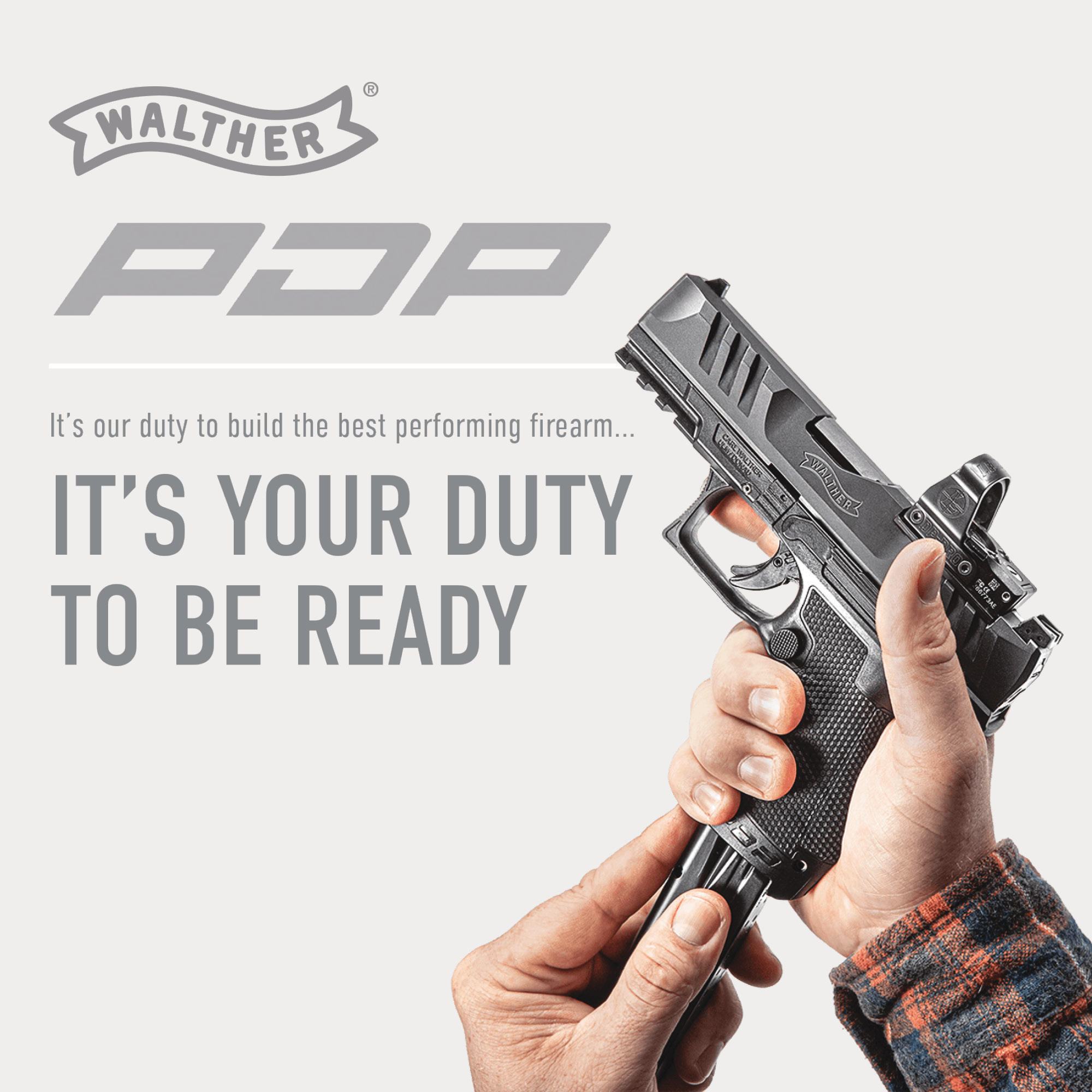 Walther Arms PDP Duty to be Ready