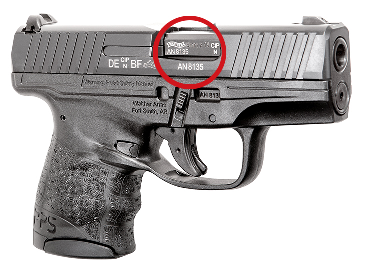 Number dates serial ruger When Was